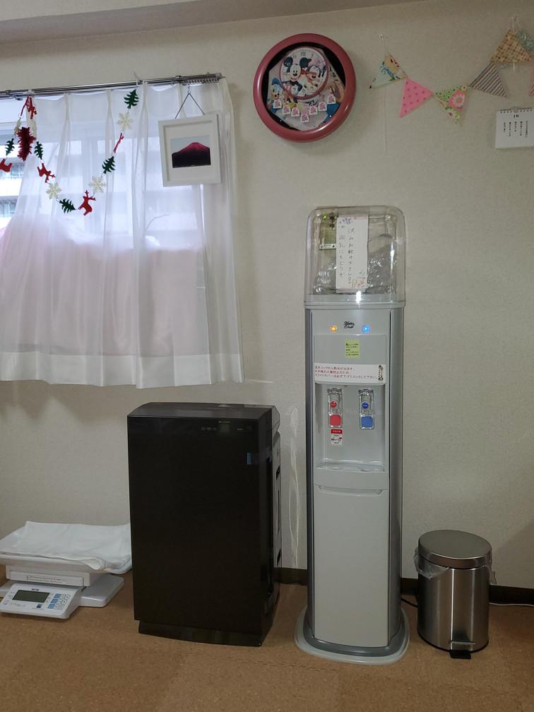 空気清浄機、ウォーターサーバー